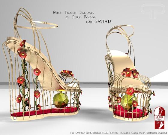 Pure Poison - Miss Ficceh Sandals - SAVIAD Spring Fair