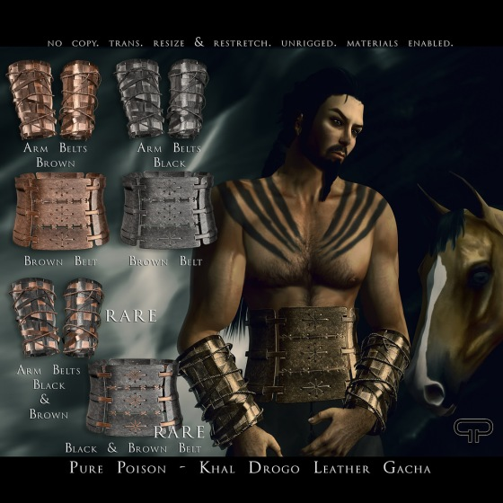 Pure Poison - Khal Drogo Leather - The Secret Affair